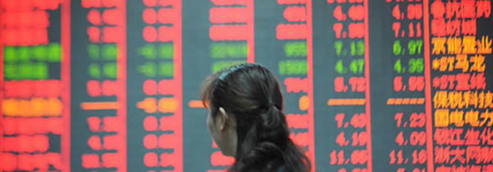 Cae la Bolsa de China : Mal dato industrial provocó la peor caída de Shanghái en ocho años