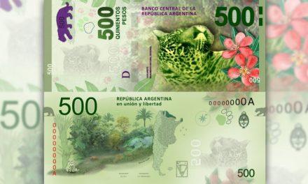 Video casero enseña a identificar billetes de $500 falsos