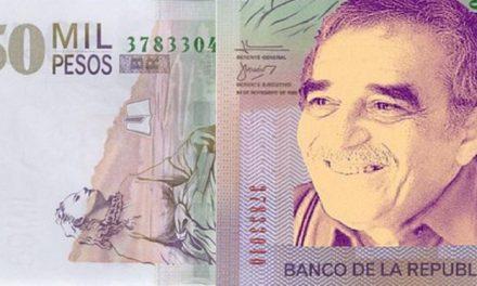 Colombia : nuevo billete con la cara de Gabriel García Márquez