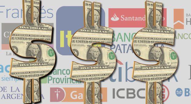 El Gobierno mandó a los bancos oficiales a comprar dólares para evitar que baje
