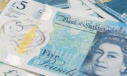 Vegetarianos y veganos se oponen al nuevo billete de 5 libras del Reino Unido