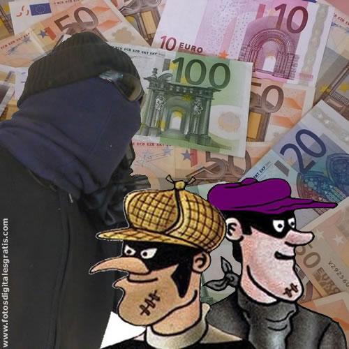 Billetes de 10 euros robados circulan por Alemania