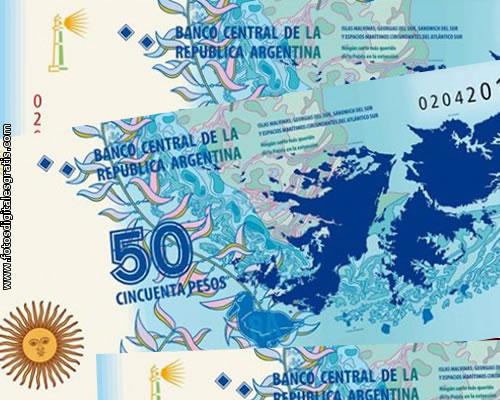 Nuevo billete de $50 sobre las Islas Malvinas recibió aceptación internacional