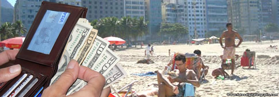 Vacaciones en dólares en el exterior : casi al valor de un OKM