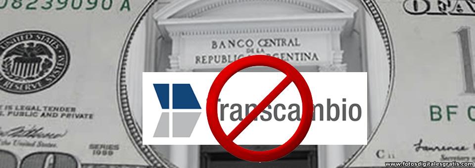 El Banco Central suspendió a la casa de cambio Transcambio