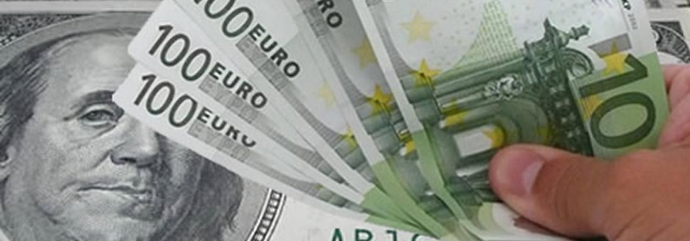 La paridad euro dólar se asoma tras bajar en un día de los 1,05 y los 1,04 dólares
