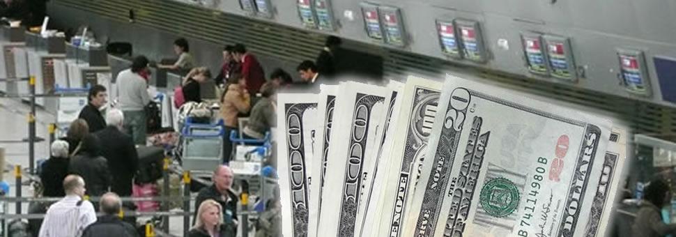 Balance cambiario : Ingresan dólares por el blanqueo y se van por el turismo