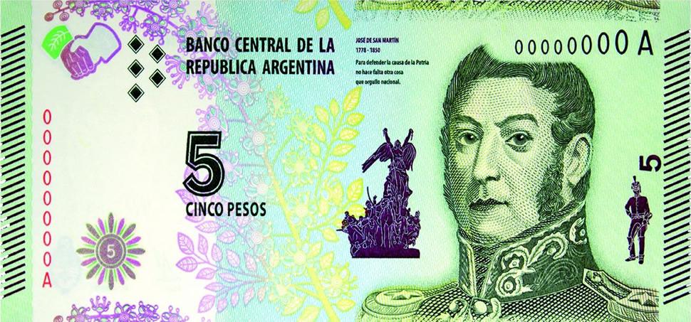 Extendieron el plazo para canjear los billetes de 5 pesos