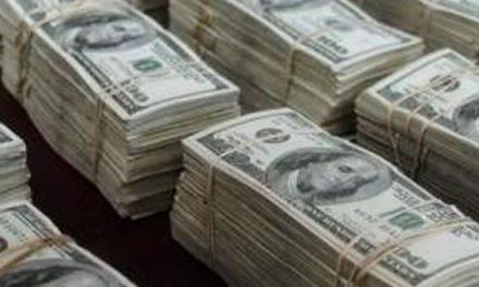 Blanqueo de capitales alcanzó los 116.800 millones de dólares