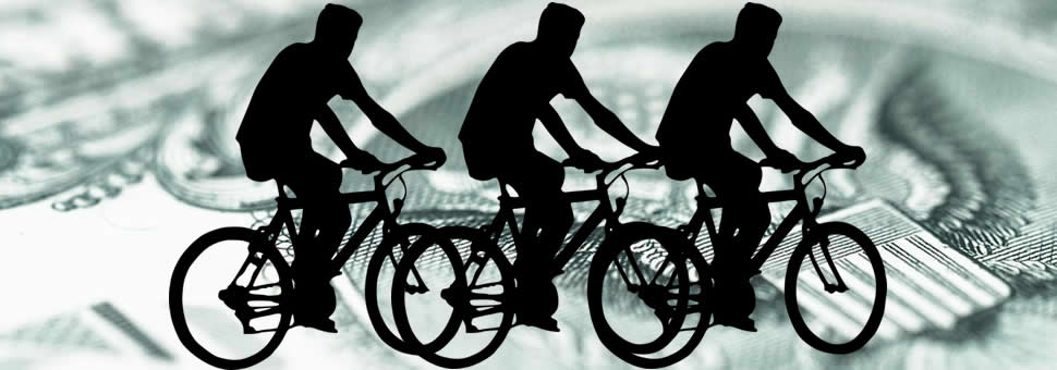 """La suba del dólar es un golpe a la """"bicicleta financiera"""" ?"""