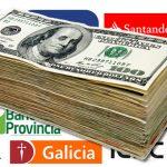 En Argentina se paga mas comisión para compra de dólares en bancos