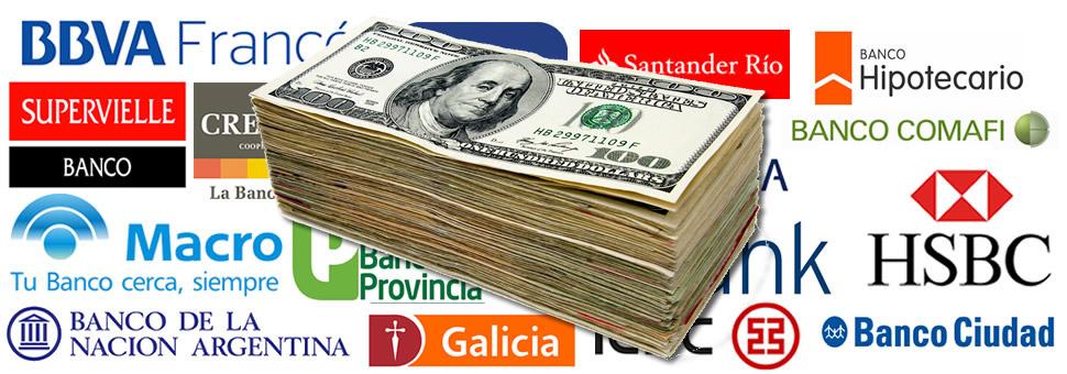 La compra de dólares en bancos llega a u$s26.176 millones