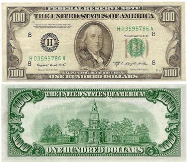 Dolar 100 Cabeza Chiquita