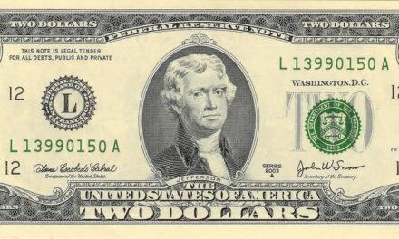 El Billete de dos dólares es legal o falso ?